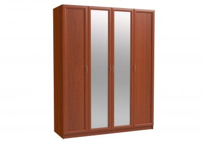 ЭЛ-12 Шкаф 4-х дверный с зеркалом