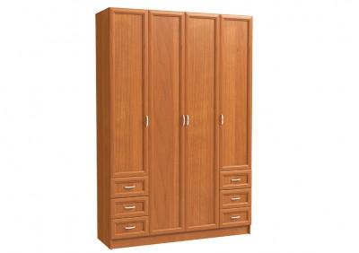 Шкаф 4х дверный с 6-ю мал. ящ.